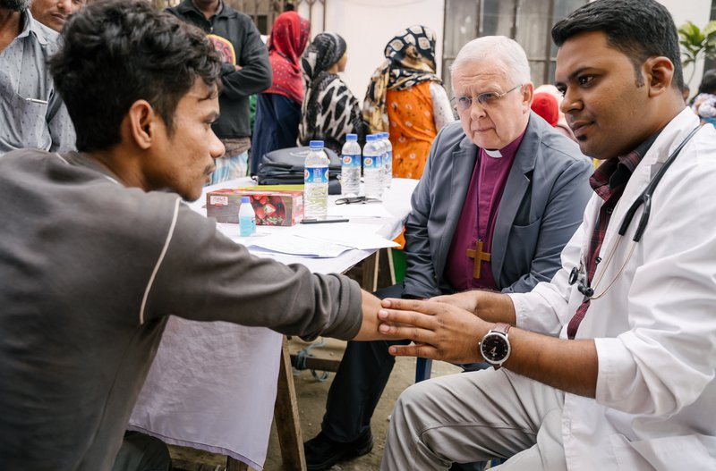 The Bishop of Peterborough visits a leprosy outreach project in Bangladesh.