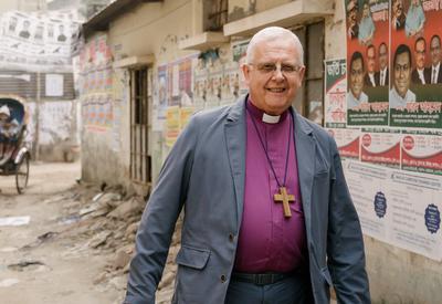 Bishop Donald in Bangladesh