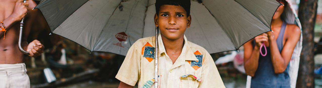 Boy in India