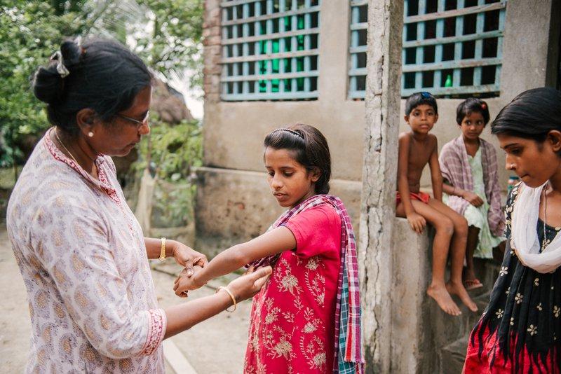 Dr Helen in the Sundarbans