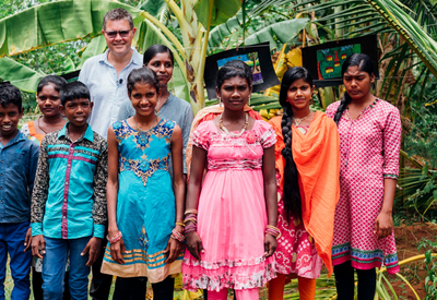Peter in Sri Lanka