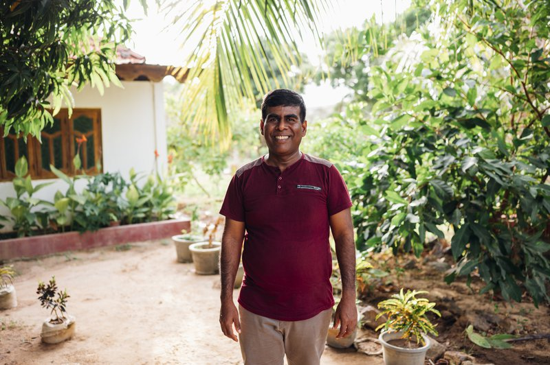 Rev Joshua heads up KKM, one of The Leprosy Mission's partners in Sri Lanka