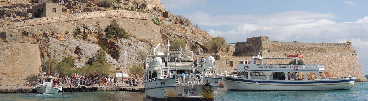 Tourist boats visit Spinaglonga Europe's last leprosy colony 2.jpg
