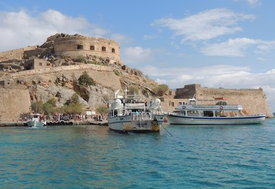 Tourist boats visit Spinaglonga Europe's last leprosy colony 2.jpg