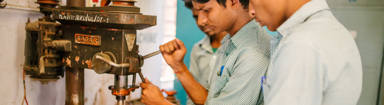 Welding at Bankura VTC
