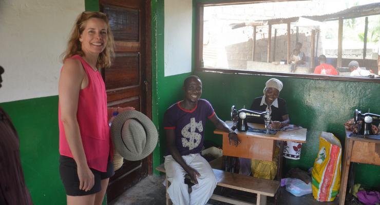 Darcey Bussell visits the ALEMO centre in Mozambique