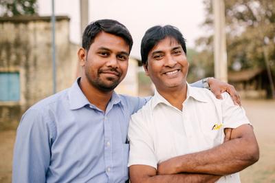 Vivek and Sanjib - screen resolution